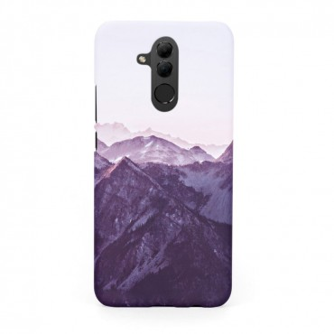Tвърд кейс/калъф в дизайн Mountan Range за Huawei Mate 20 Lite, Case, Уникален Дизайн