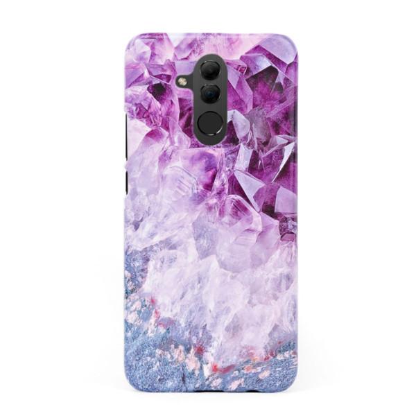 3D твърд кейс/калъф в дизайн Amethyst Diamonds за Huawei Mate 20 Lite, 3D гел покритие, Case
