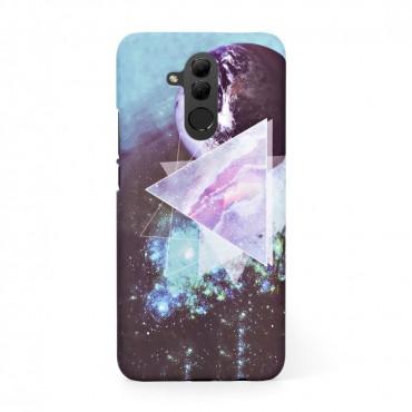 Луксозен твърд кейс/калъф в дизайн Galaxy за Huawei Mate 20 Lite, Case