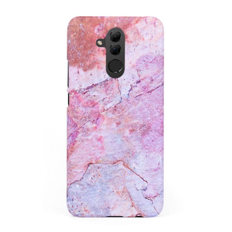 Кейс/калъф в дизайн Colorful Marble за Huawei Mate 20 Lite, Твърд, Case, Уникален дизайн
