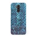 3D твърд кейс/калъф в дизайн Blue Mermaid за Huawei Mate 20 Lite, 3D гел покритие, Case
