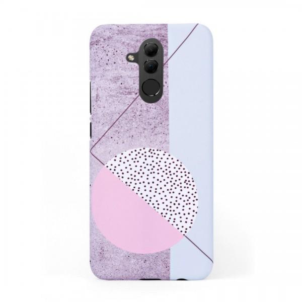Кейс/калъф в дизайн Geometry за Huawei Mate 20 Lite, Твърд, Case, Уникален дизайн