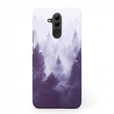 Твърд кейс/калъф в дизайн Foggy Forest за Huawei Mate 20 Lite, Case, Уникален Дизайн