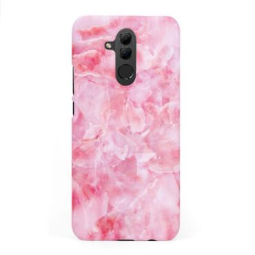 Твърд кейс/калъф в дизайн Pink Marble за Huawei Mate 20 Lite, Case, Уникален Дизайн