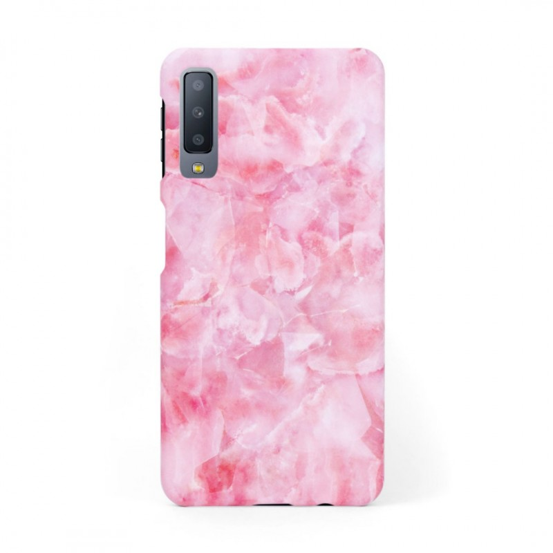 Твърд кейс/калъф в дизайн Pink Marble за Samsung Galaxy A7 (2018), Case, Уникален Дизайн