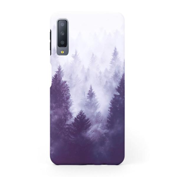 Твърд кейс/калъф в дизайн Foggy Forest за Samsung Galaxy A7 (2018), Case, Уникален Дизайн