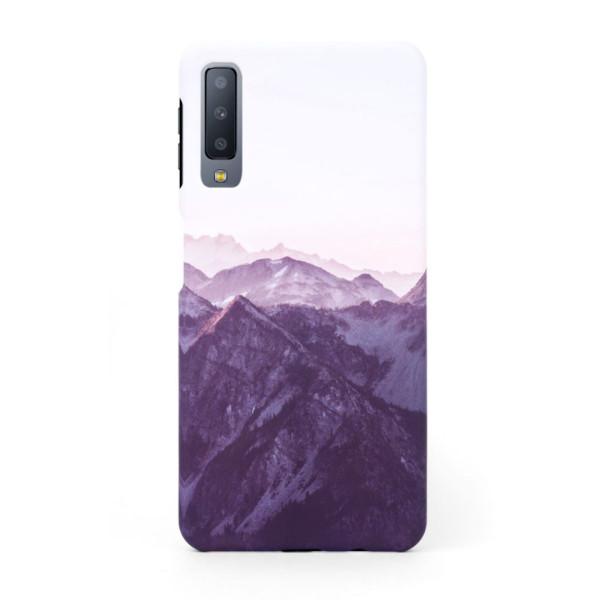 Tвърд кейс/калъф в дизайн Mountan Range за Samsung Galaxy A7 (2018), Case, Уникален Дизайн
