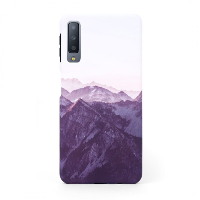 Tвърд кейс/калъф в дизайн Mountan Range за Samsung Galaxy A7 (2018), Case, Уникален Дизайн