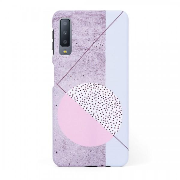 Кейс/калъф в дизайн Geometry за Samsung Galaxy A7 (2018), Твърд, Case, Уникален дизайн