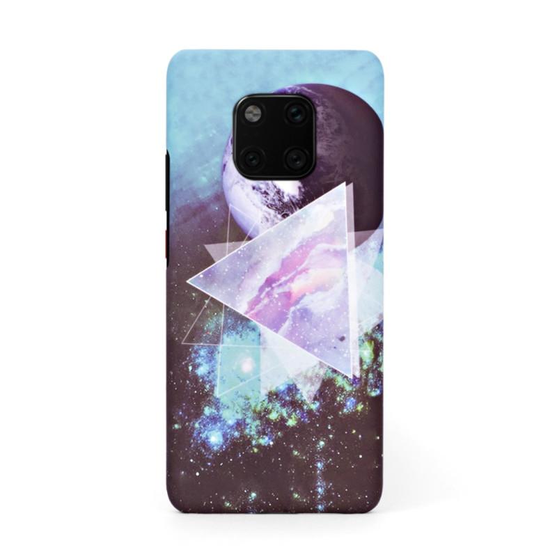 Луксозен твърд кейс/калъф в дизайн Galaxy за Huawei Mate 20 Pro, Case