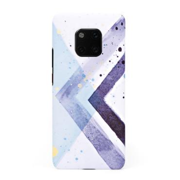 Твърд кейс/калъф в дизайн Colorful Triangles за Huawei Mate 20 Pro, Case, Уникален Дизайн