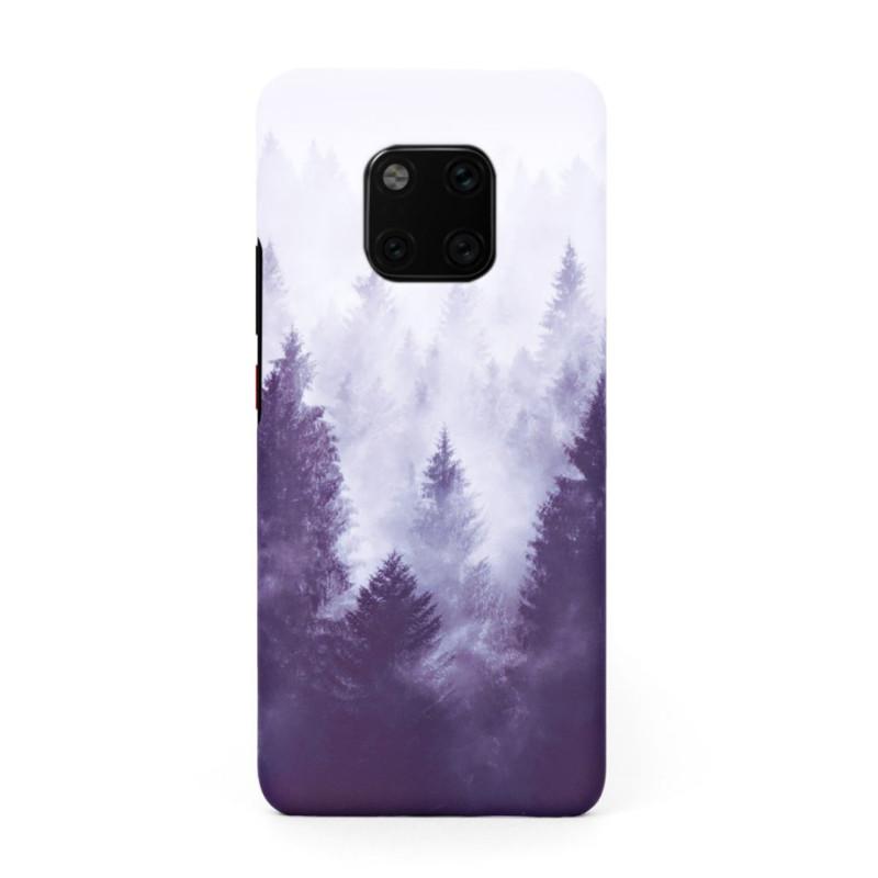 Твърд кейс/калъф в дизайн Foggy Forest за Huawei Mate 20 Pro, Case, Уникален Дизайн