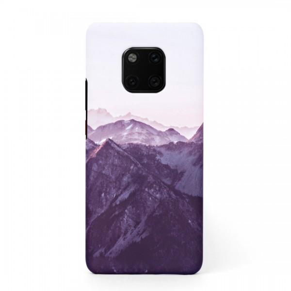 Tвърд кейс/калъф в дизайн Mountan Range за Huawei Mate 20 Pro, Case, Уникален Дизайн