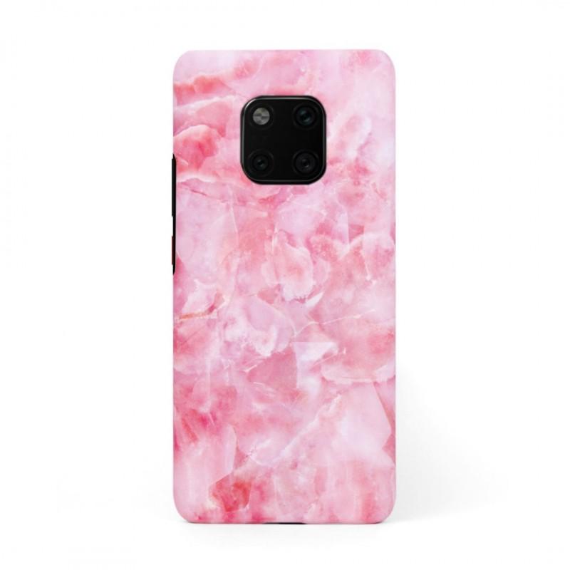 Твърд кейс/калъф в дизайн Pink Marble за Huawei Mate 20 Pro, Case, Уникален Дизайн