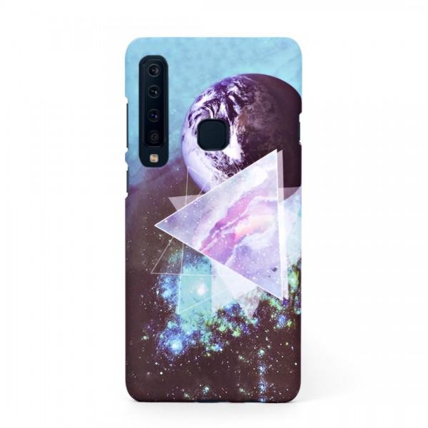 Луксозен твърд кейс/калъф в дизайн Galaxy за Samsung Galaxy A9 (2018), Case