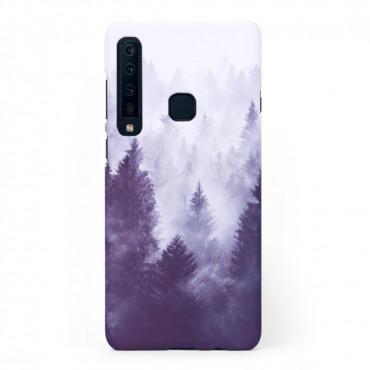 Твърд кейс/калъф в дизайн Foggy Forest за Samsung Galaxy A9 (2018), Case, Уникален Дизайн