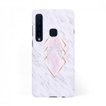Твърд кейс/калъф в дизайн Golden Rhomboids за Samsung Galaxy A9 (2018), Case, Уникален Дизайн