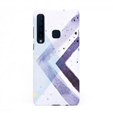 Твърд кейс/калъф в дизайн Colorful Triangles за Samsung Galaxy A9 (2018), Case, Уникален Дизайн