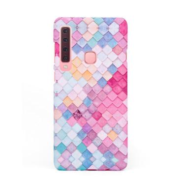 Твърд кейс/калъф в дизайн Colorful Scales за Samsung Galaxy A9 (2018), Case, Уникален Дизайн