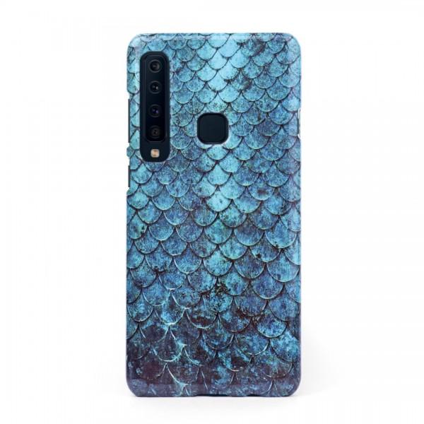 3D твърд кейс/калъф в дизайн Blue Mermaid за Samsung Galaxy A9 (2018), 3D гел покритие, Case