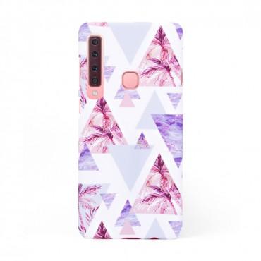 Луксозен кейс/калъф в дизайн Palm Paradise за Samsung Galaxy A9 (2018), Tвърд, Case