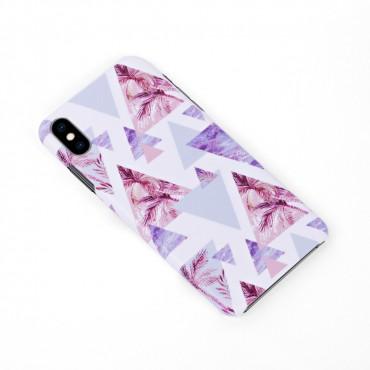 Луксозен кейс/калъф в дизайн Palm Paradise за iPhone X, Tвърд, Case