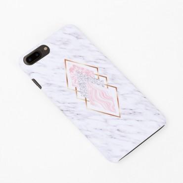 Твърд кейс/калъф в дизайн Golden Rhomboids за iPhone 7 Plus, Case, Уникален Дизайн