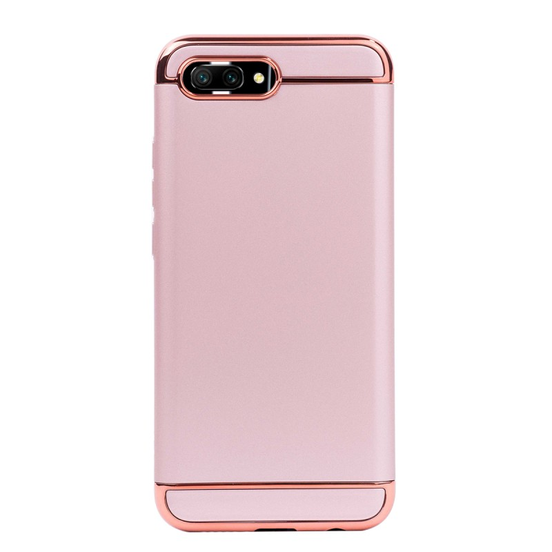 Луксозен кейс/калъф от 3 части за Huawei Honor 10, Case, Твърд, Розово злато