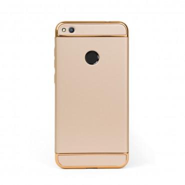 Луксозен кейс/калъф от 3 части за Huawei Honor 8 Lite, Case, Твърд, Златист