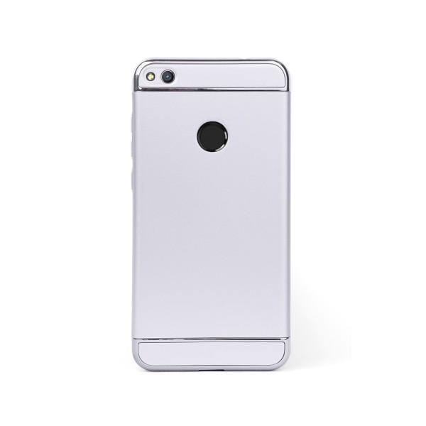 Луксозен кейс/калъф от 3 части за Huawei Honor 8 Lite, Case, Твърд, Сребрист