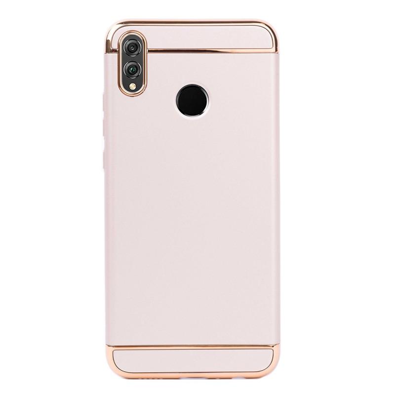 Луксозен кейс/калъф от 3 части за Huawei Honor 8X, Case, Твърд, Златист