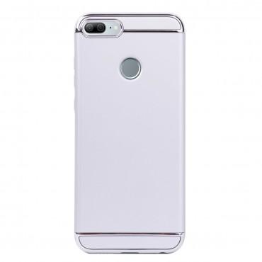 Луксозен кейс/калъф от 3 части за Huawei Honor 9 Lite, Case, Твърд, Сребрист