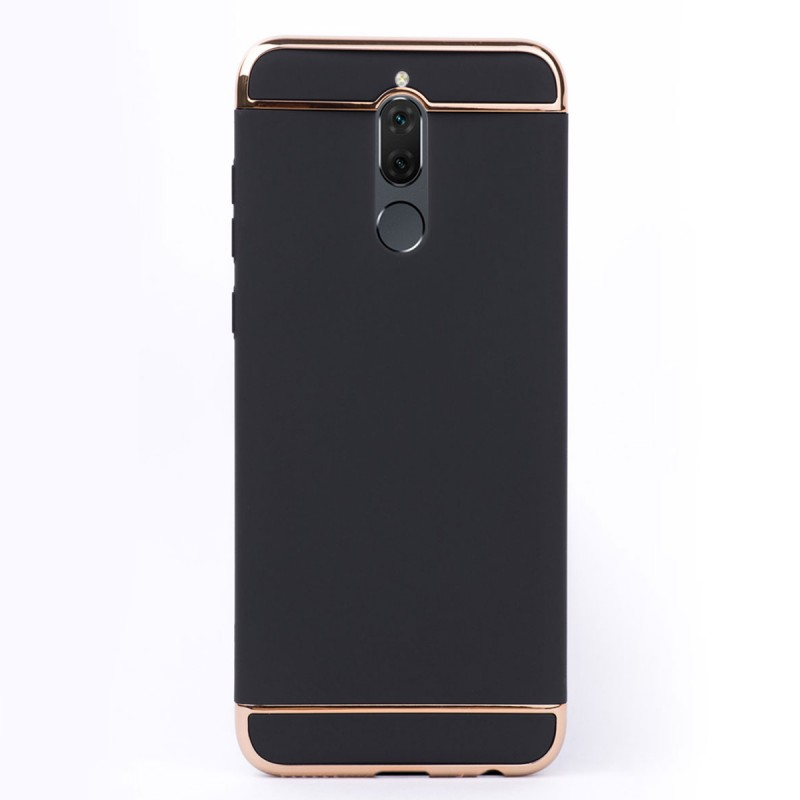 Луксозен кейс/калъф от 3 части за Huawei Mate 10 Lite, Case, Твърд, Черен