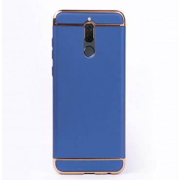 Луксозен кейс/калъф от 3 части за Huawei Mate 10 Lite, Case, Твърд, Син