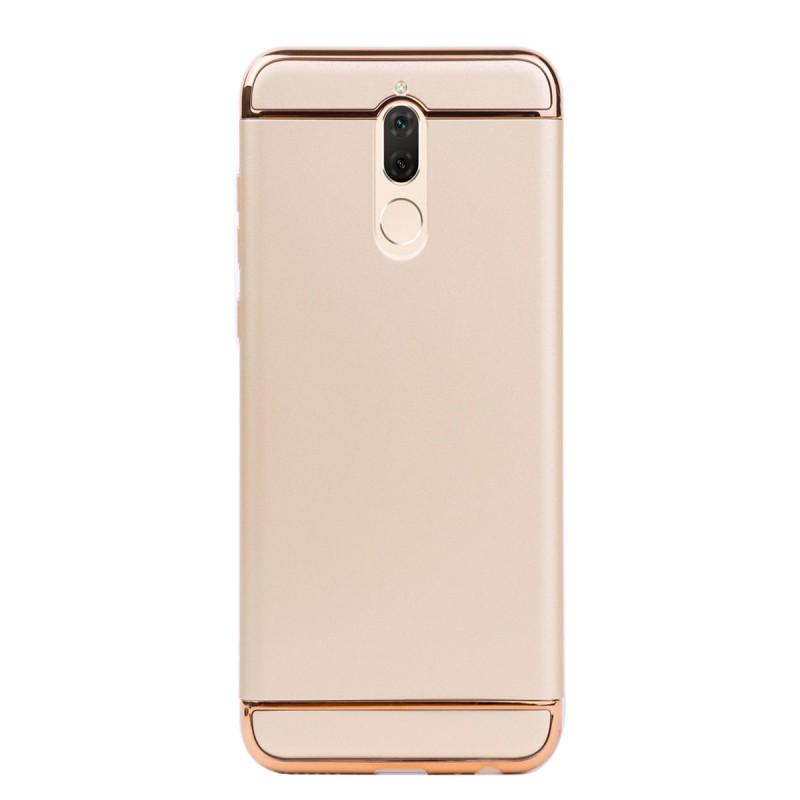 Луксозен кейс/калъф от 3 части за Huawei Mate 10 Lite, Case, Твърд, Златист