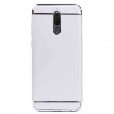 Луксозен кейс/калъф от 3 части за Huawei Mate 10 Lite, Case, Твърд, Сребрист