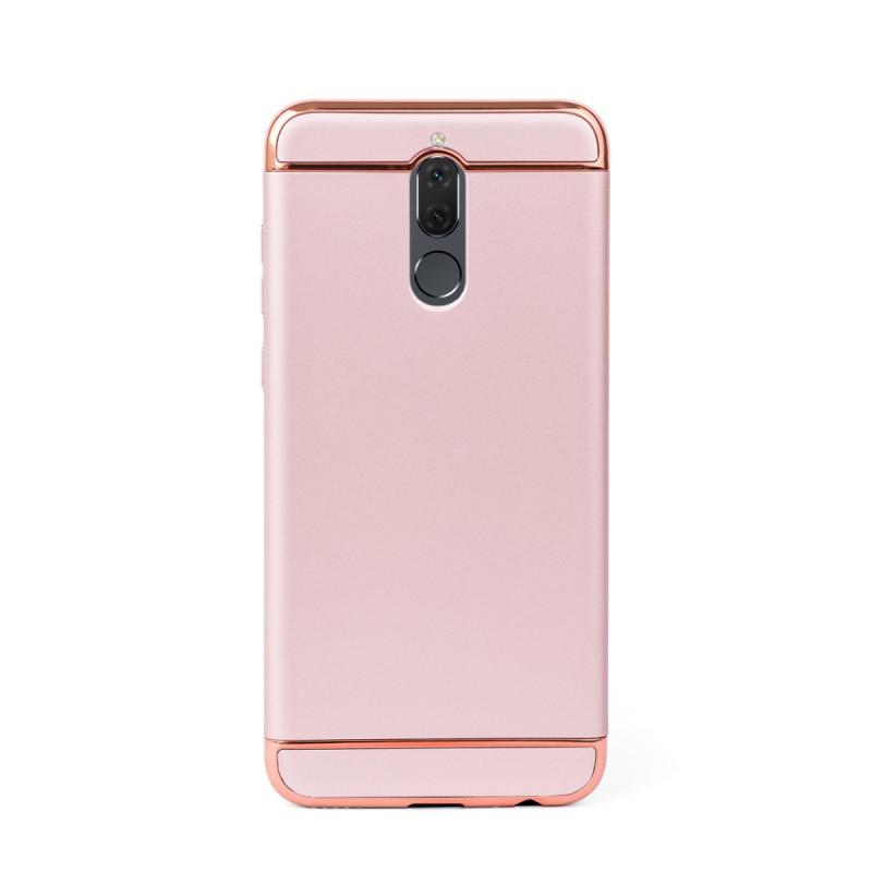 Луксозен кейс/калъф от 3 части за Huawei Mate 10 Lite, Case, Твърд, Розово злато