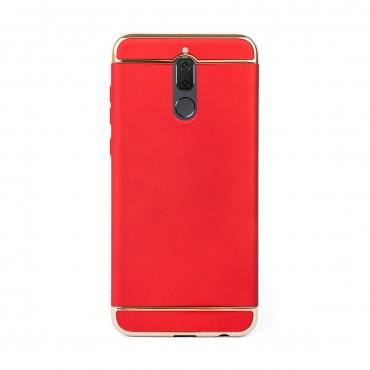 Луксозен кейс/калъф от 3 части за Huawei Mate 10 Lite, Case, Твърд, Червен