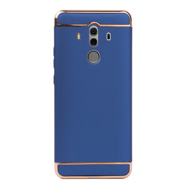 Луксозен кейс/калъф от 3 части за Huawei Mate 10 Pro, Case, Твърд, Син