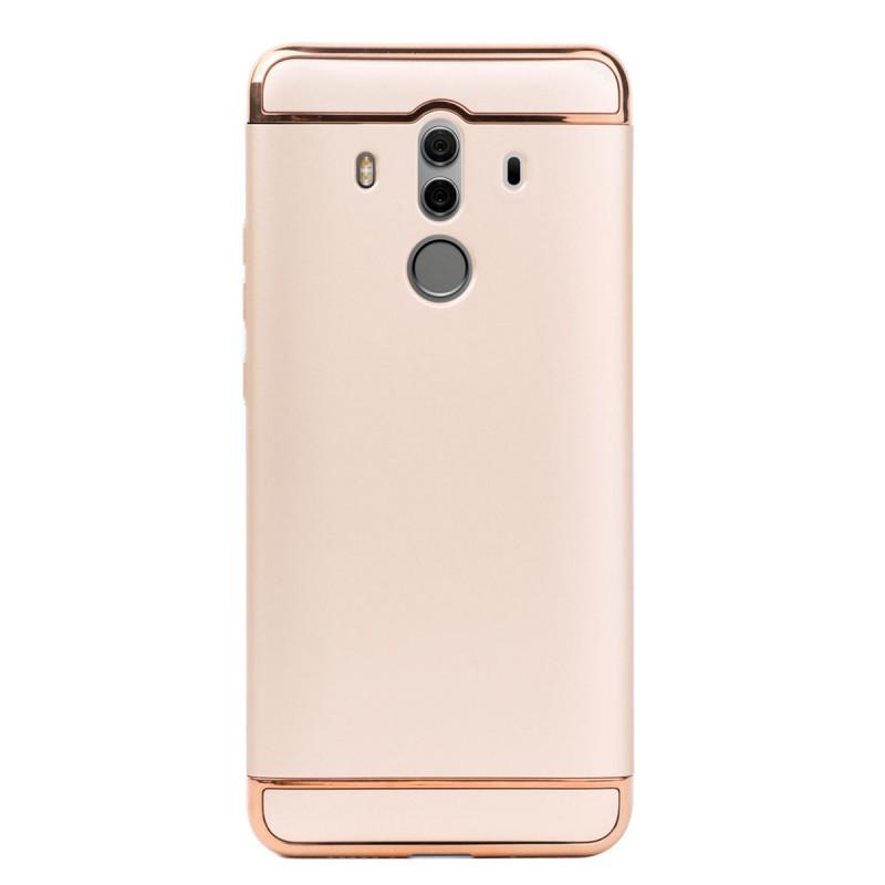 Луксозен кейс/калъф от 3 части за Huawei Mate 10 Pro, Case, Твърд, Златист