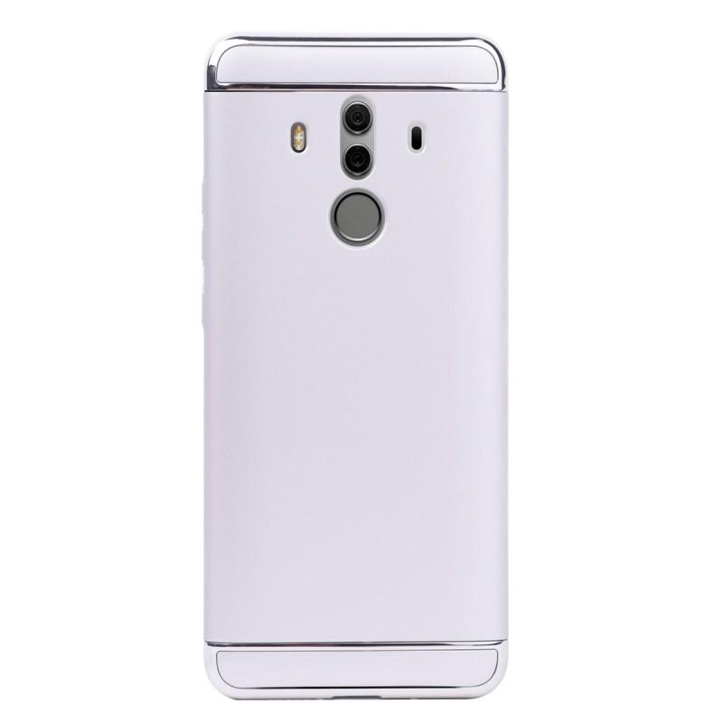 Луксозен кейс/калъф от 3 части за Huawei Mate 10 Pro, Case, Твърд, Сребрист