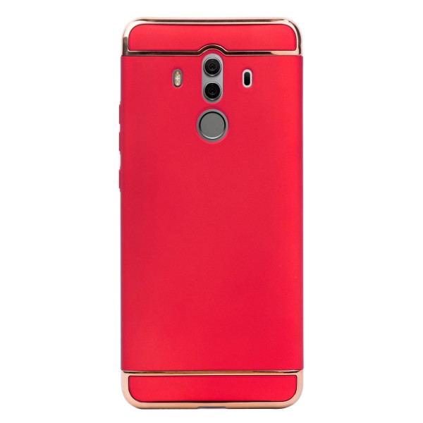 Луксозен кейс/калъф от 3 части за Huawei Mate 10 Pro, Case, Твърд, Червен