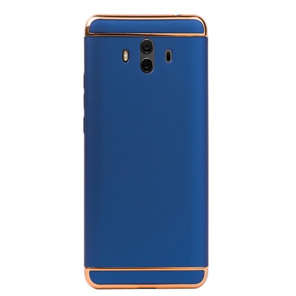 Луксозен кейс/калъф от 3 части за Huawei Mate 10, Case, Твърд, Син