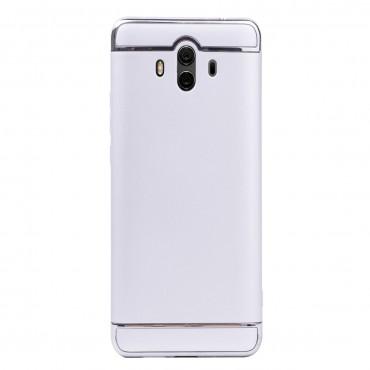 Луксозен кейс/калъф от 3 части за Huawei Mate 10, Case, Твърд, Сребрист