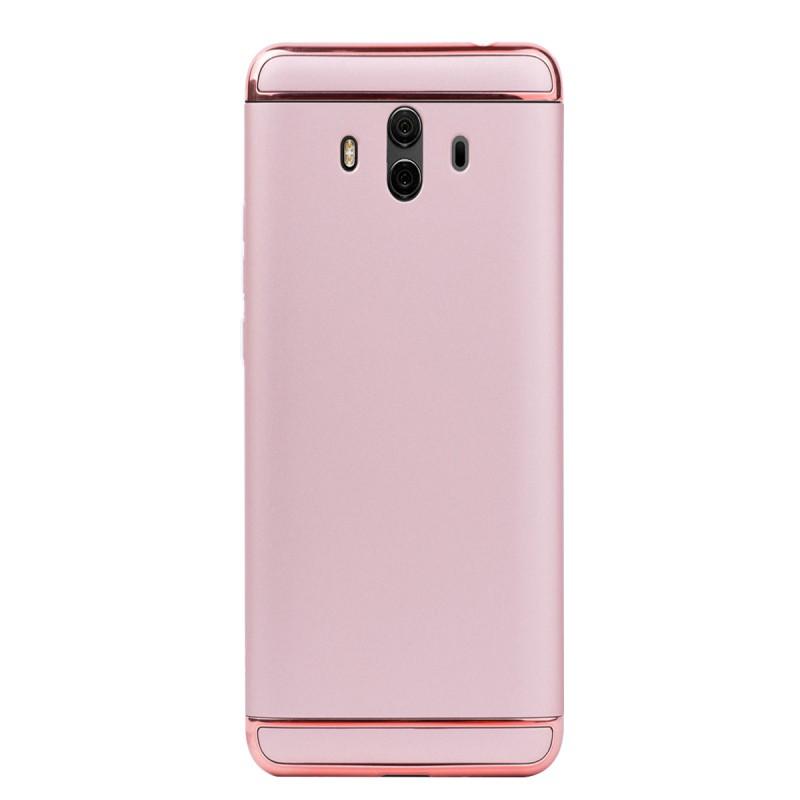 Луксозен кейс/калъф от 3 части за Huawei Mate 10, Case, Твърд, Розово злато