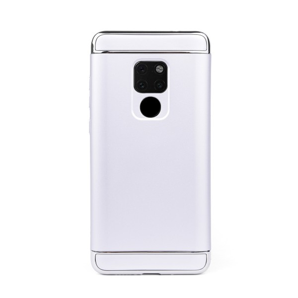Луксозен кейс/калъф от 3 части за Huawei Mate 20, Case, Твърд, Сребрист
