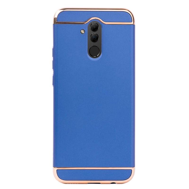 Луксозен кейс/калъф от 3 части за Huawei Mate 20 Lite, Case, Твърд, Син