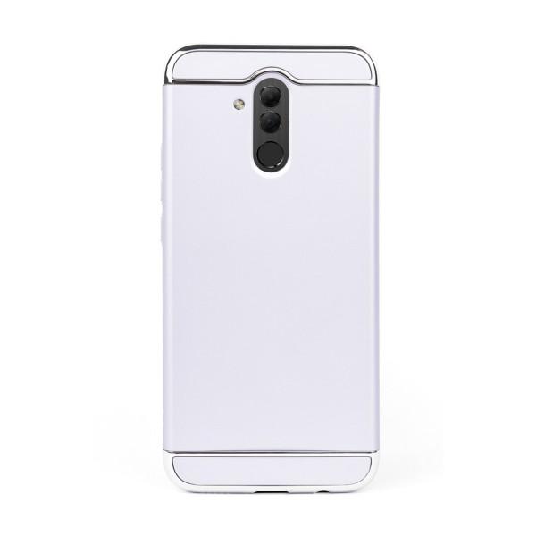 Луксозен кейс/калъф от 3 части за Huawei Mate 20 Lite, Case, Твърд, Сребрист