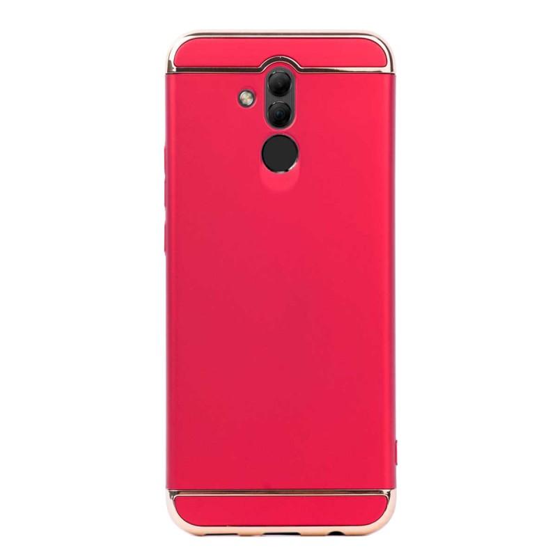 Луксозен кейс/калъф от 3 части за Huawei Mate 20 Lite, Case, Твърд, Червен