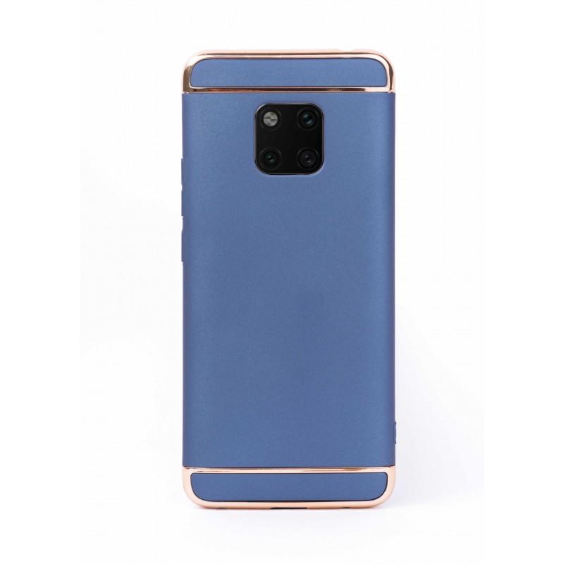 Луксозен кейс/калъф от 3 части за Huawei Mate 20 Pro, Case, Твърд, Син